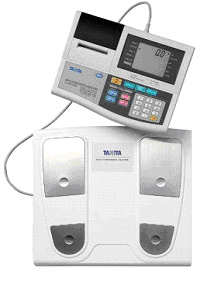 Bodymeting met Body Composition Analyzer